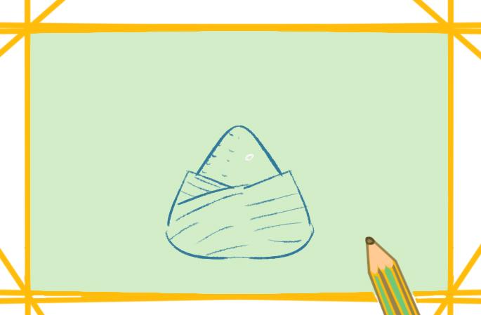 端午节上色小学生简笔画图片教程