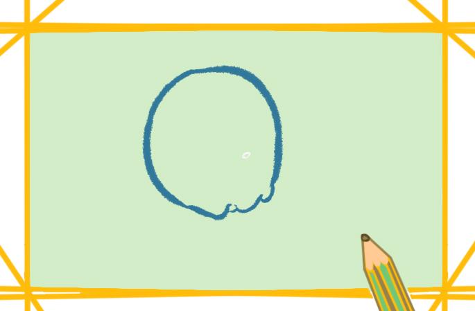 简单好看的炸鸡上色简笔画要怎么画