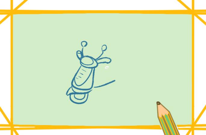 交通工具电动车上色简笔画要怎么画