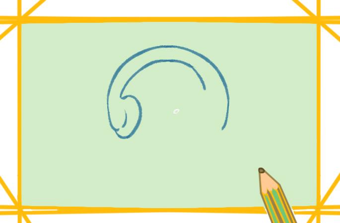 好看的头戴式耳机上色简笔画图片教程