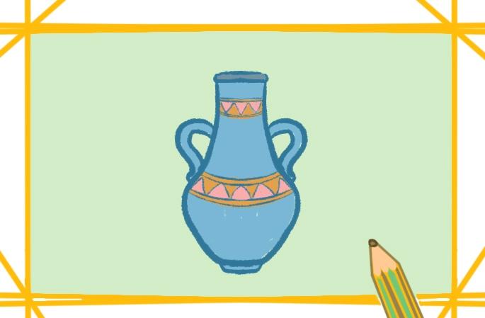 簡單好看的花瓶簡筆畫圖片怎么畫
