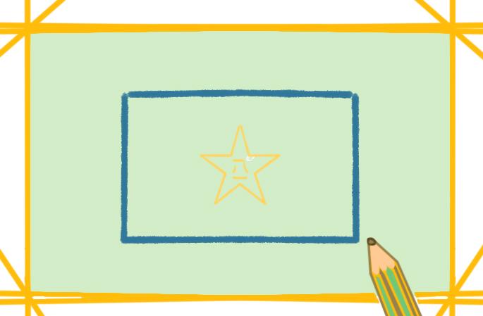 关于八一建军节上色简笔画要怎么画