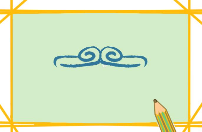 孙悟空的紧箍上色简笔画要怎么画