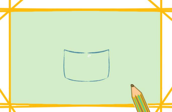n95口罩上色简笔画图片教程