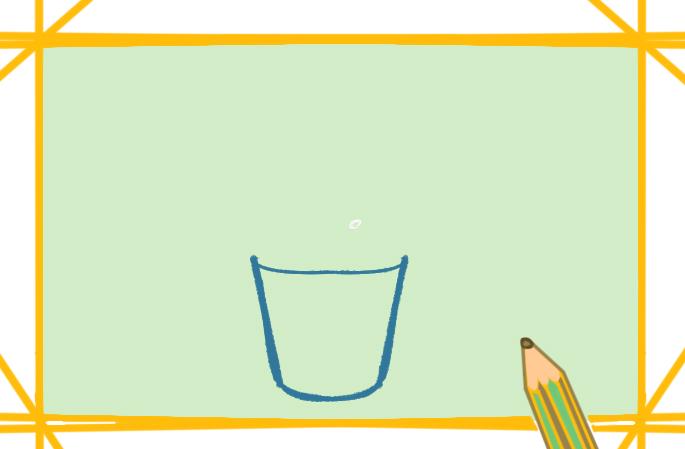 油炸的薯條上色簡筆畫要怎么畫
