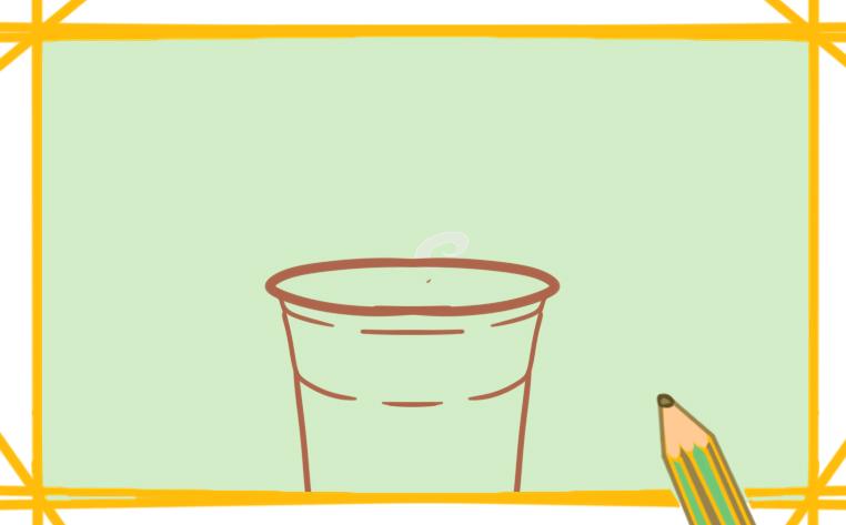 珍珠奶茶简笔画可爱怎么画