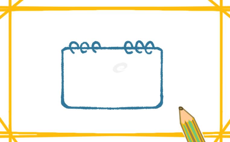 可爱的新年日历简笔画怎么画