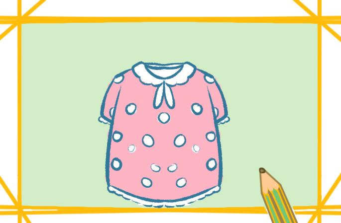 可爱的睡衣上色简笔画要怎么画