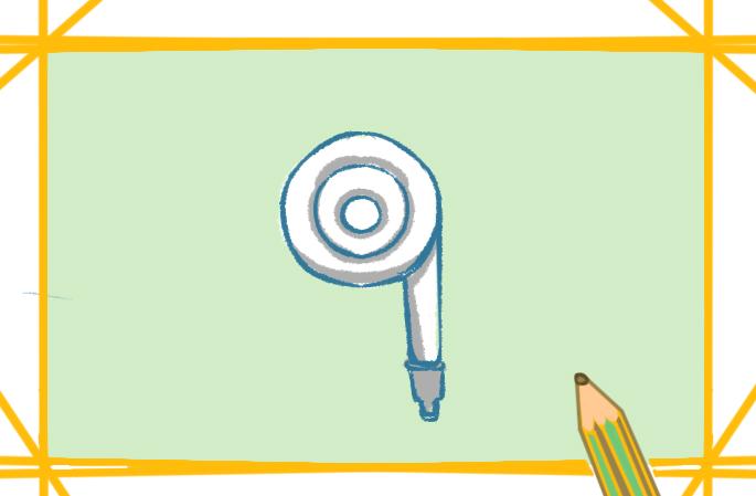 简单的水管上色简笔画要怎么画