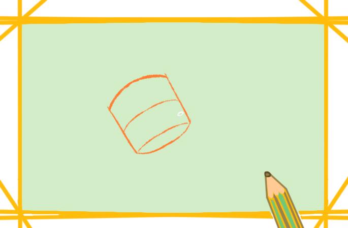 好看的卫星上色简笔画要怎么画