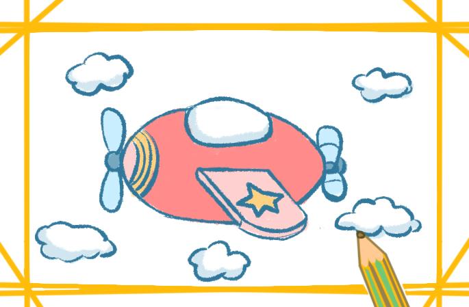 简单好看的飞机简笔画怎么画