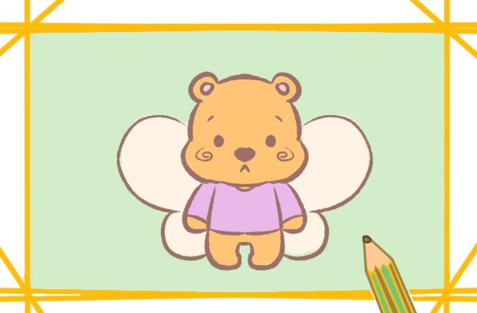 可爱的小熊维尼简笔画图片怎么画