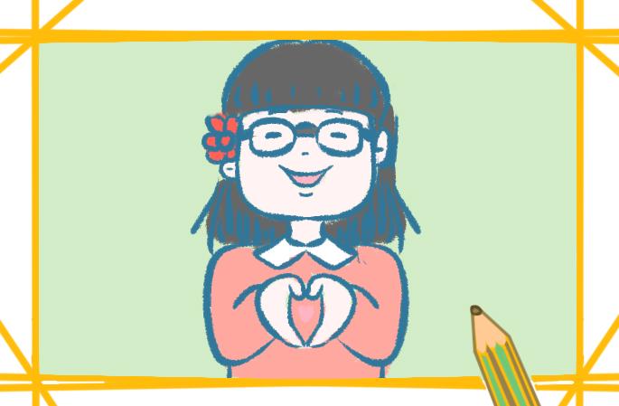 可爱的班主任的图片怎么画