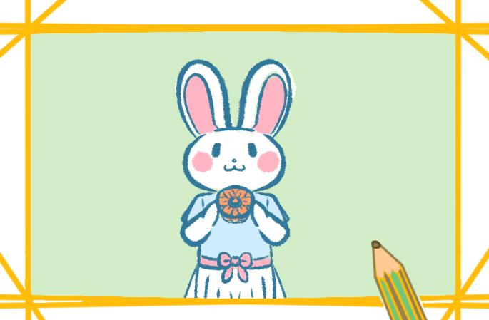 简单又好看的小白兔怎么画步骤简单