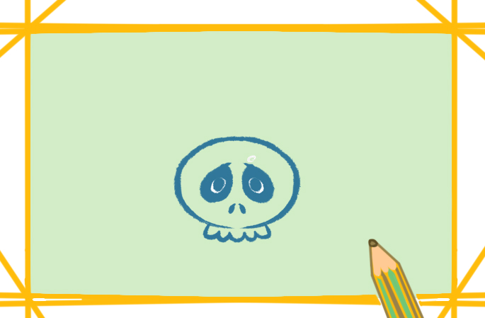 万圣节的黑乌鸦简笔画图片怎么画