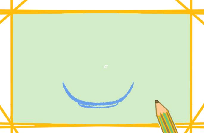 簡單好看的光盤行動簡筆畫怎么畫